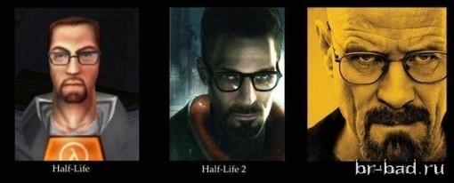 Half Life 3 Walter White edition